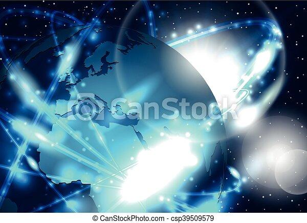 Global network - csp39509579