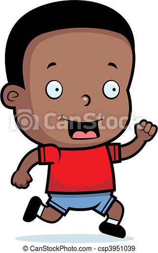 Toddler Running - csp3951039