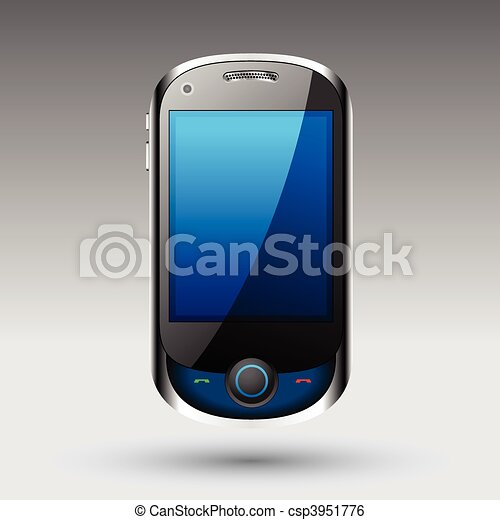 Smartphone editable vector file - csp3951776