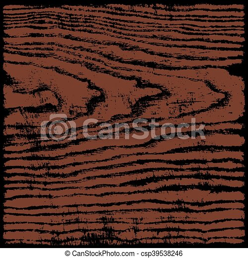 Brown wood texture background in square format - csp39538246