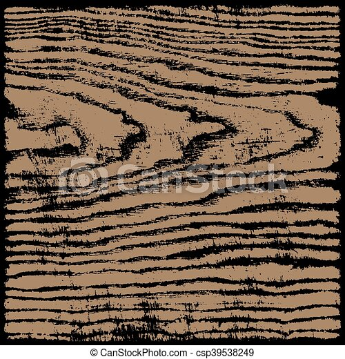 Brown wood texture background in square format - csp39538249