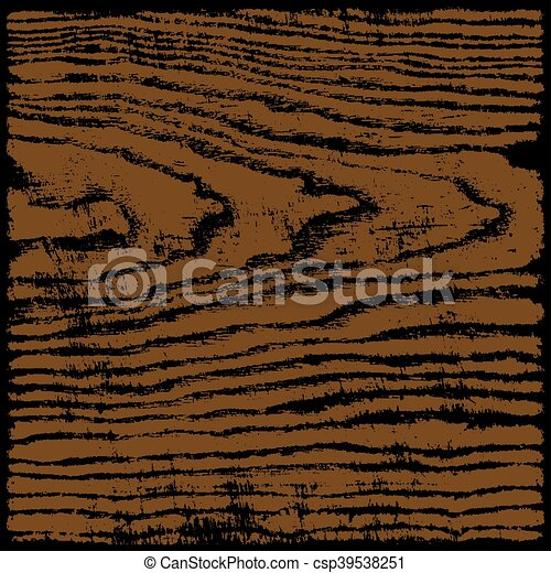 Brown wood texture background in square format - csp39538251
