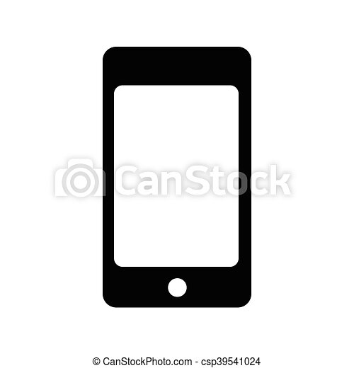 Smartphone icon,vector illustration - csp39541024