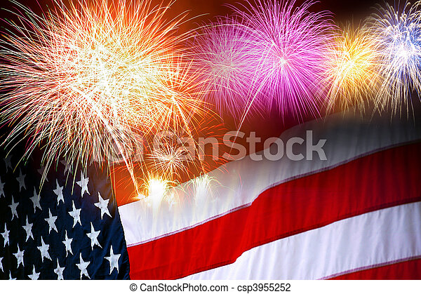 Independence Day - csp3955252