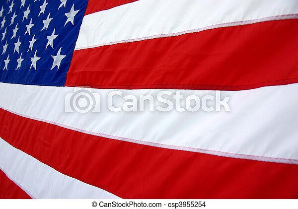 USA Flag - csp3955254