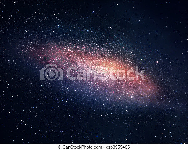 Distant galaxy - csp3955435