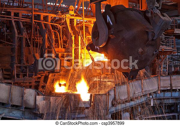 Open-hearth furnace - csp3957899