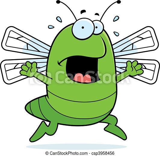 Dragonfly Panic - csp3958456