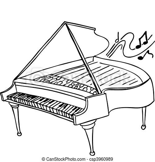 鋼琴 - csp3960989