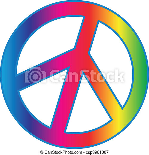 PEACE Sign - csp3961007