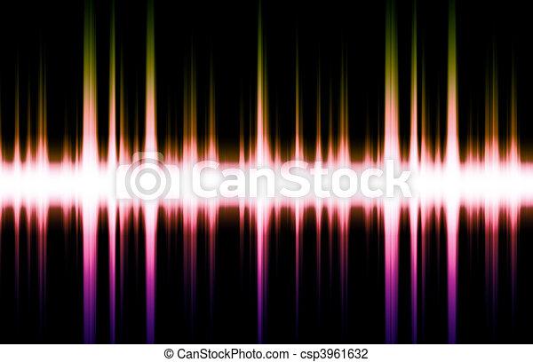 Sound Equalizer Rhythm Music Beats - csp3961632