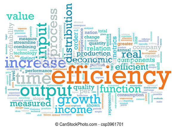 Efficiency - csp3961701