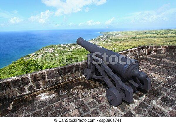 Brimstone Hill Fortress - St Kitts - csp3961741