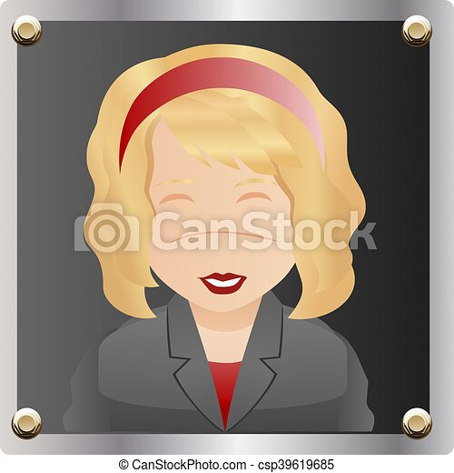 image of a businesswoman - csp39619685