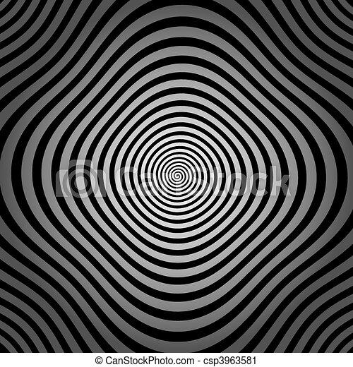spiral, vector illustration - csp3963581