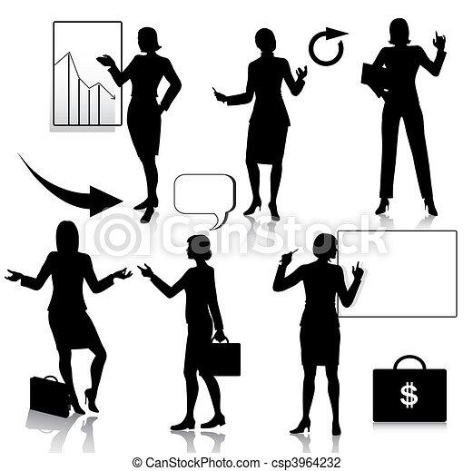Siluetas de mujer dibujos - Imagui