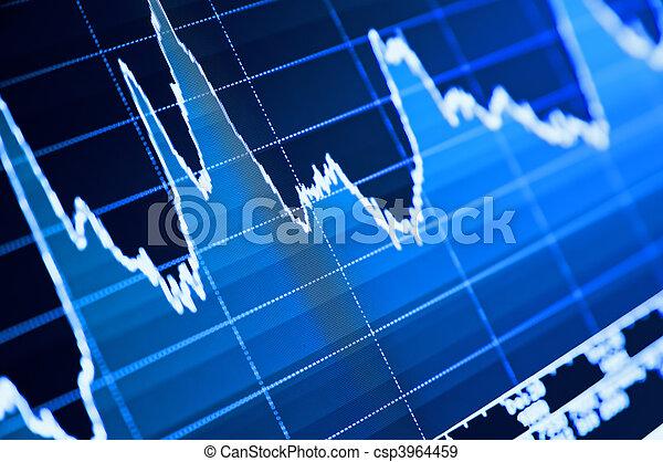 圖表, 股票 - csp3964459