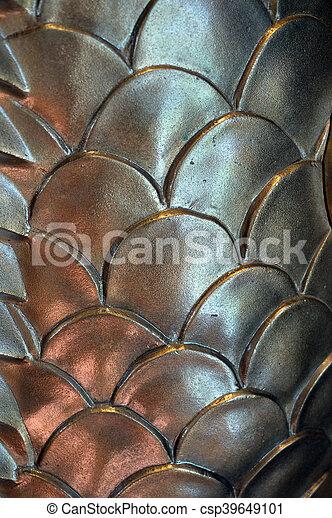 Golden Scales - csp39649101