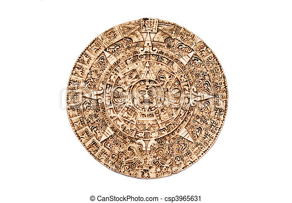 Maya calendar - csp3965631