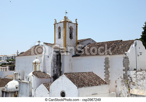 Igreja de Santiago (Santiago church) in Tavira, Portugal - csp3967249