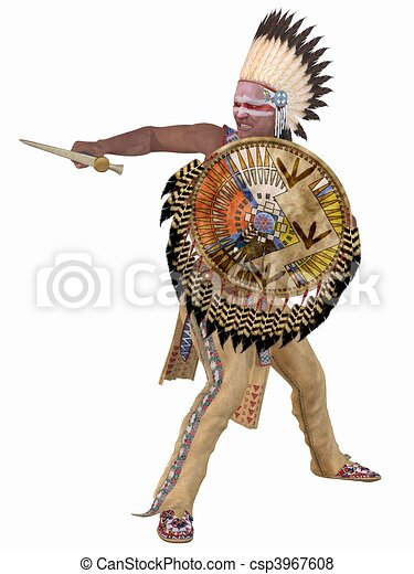 Native American Indian - Cheyenne - csp3967608