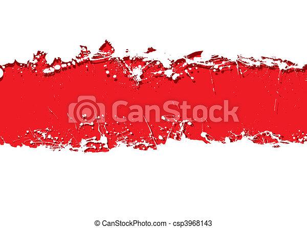grunge strip background blood - csp3968143