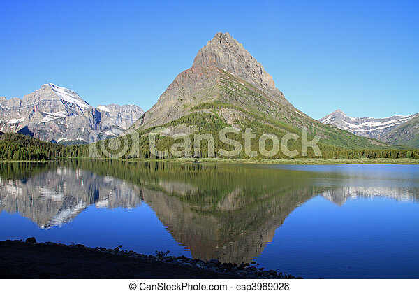 Glacier National Park - csp3969028