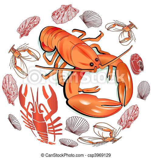 lobster clip art