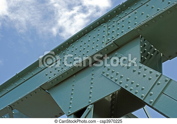 Truss bridge - csp3970225