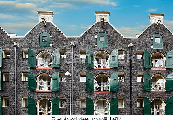 Black Residential Building