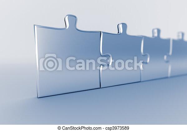 Puzzle row - csp3973589