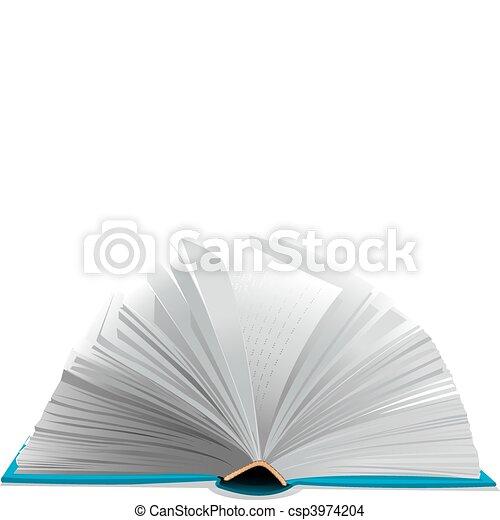 Open book - csp3974204