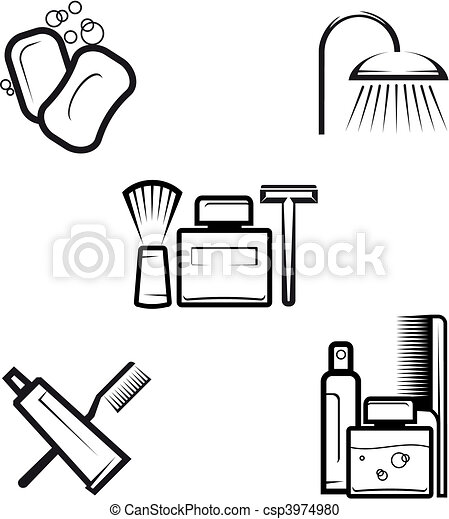Hygiene objects - csp3974980