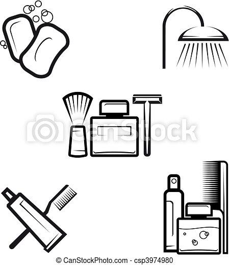 Hygiene objects - csp3974980