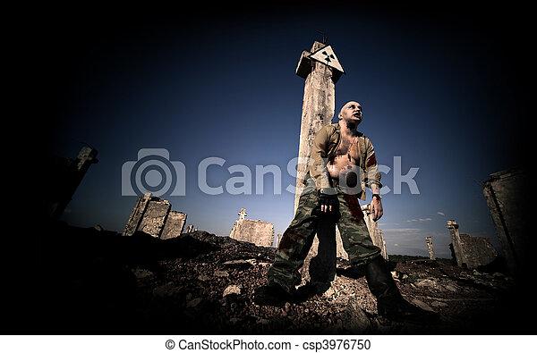 Bloody zombie - csp3976750