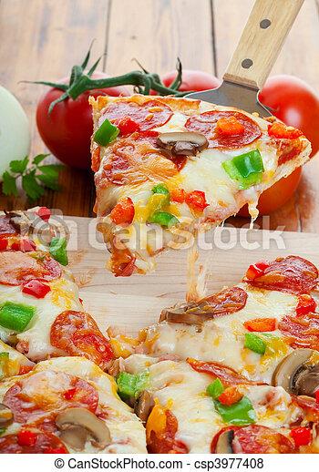 Pizza supreme - csp3977408