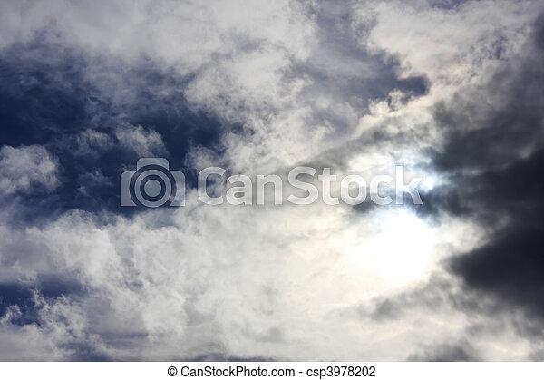 Turbulent Sky - csp3978202