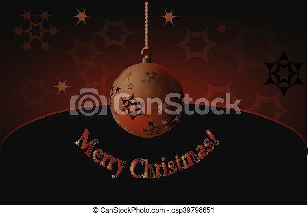 Merry Christmas! - csp39798651