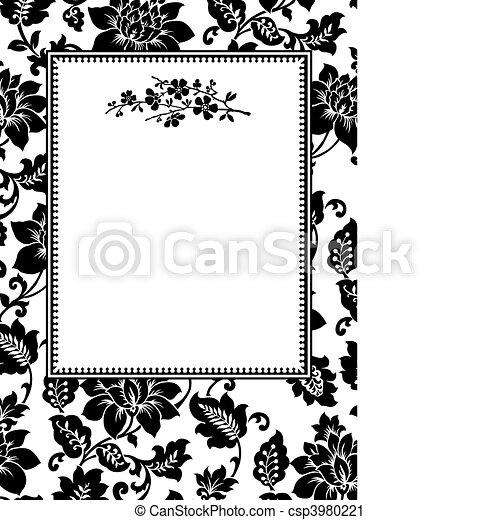 Vector Twig Frame - csp3980221