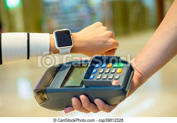 Smart watch pay by NFC