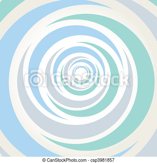 Spiral background vector illustrati - csp3981857