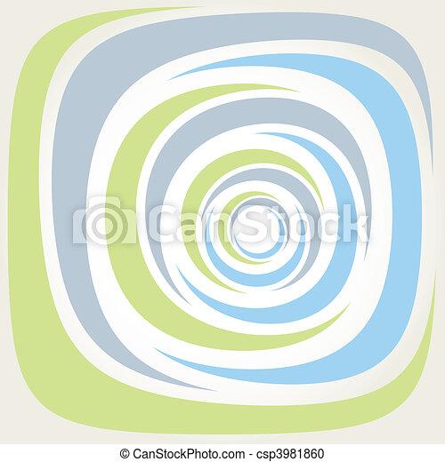 Spiral background vector illustrati - csp3981860