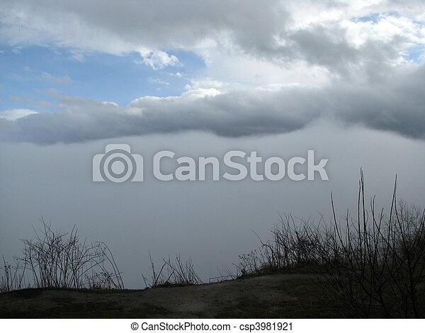 cloud, cloud, blue sky, thunderstorm, haze