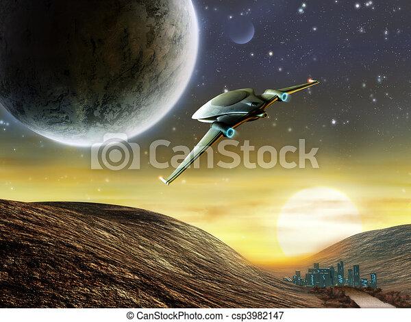 Space adventure - csp3982147