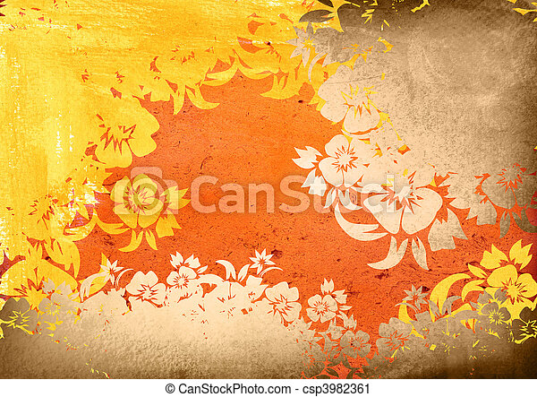 asia style textures and backgrounds - csp3982361