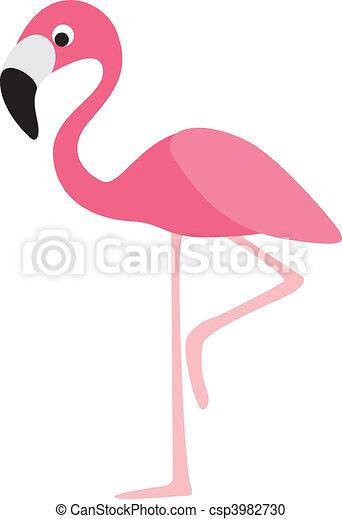 stock illustration von flamingo karikatur flamingo modern farbe karikatur csp3982730. Black Bedroom Furniture Sets. Home Design Ideas