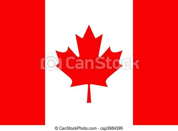Canada Flag - csp3984395