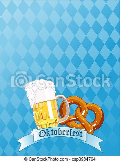 Oktoberfest Celebration - csp3984764