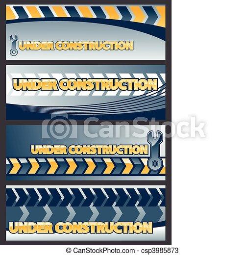 under construction - csp3985873