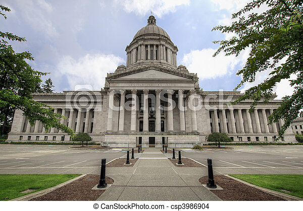 Washington State Capital Legislative Building 2 - csp3986904